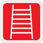 Fire safety sign - Fire Ladder 095